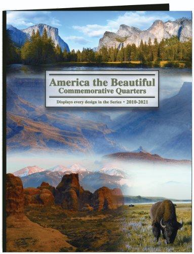 Littleton America The Beautiful Commemorative Quarter Color Folder-2010-2021