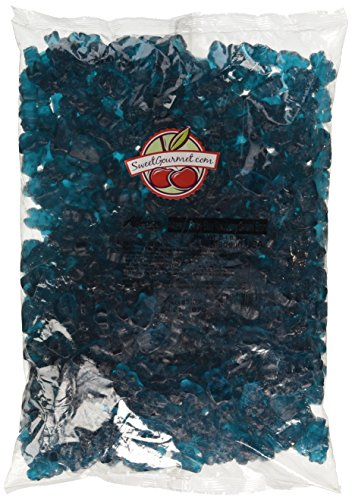 Albanese Beary Blue Raspberry Gummi Bears, 5-Pound Bags