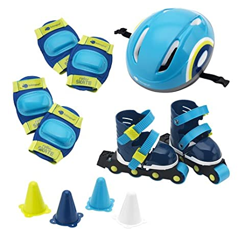 itsImagical - Set Rolling, mochila con set de patinaje de color azul (Imaginarium 70044