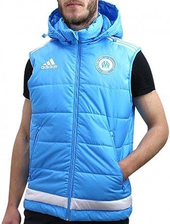 adidas Om Padded Vest M TUR Doudoune Football Olympique de