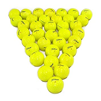 Titleist DT Solo Yellow 36 Pack Golf Balls Mint Condition