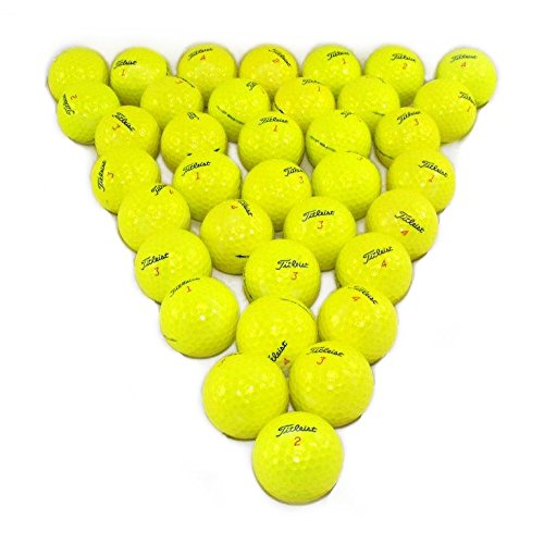 Titleist DT Solo Yellow 36 Pack Golf Balls Mint Condition ()