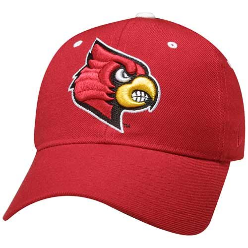(Zephyr Louisville Cardinals DHS Fitted Hat)