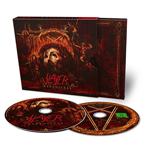 CD : Slayer - Repentless (With DVD, 2 Pack, Digipack Packaging, 2 Disc)