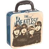 Vandor 64570 The Beatles Square Tin Tote, Multicolored