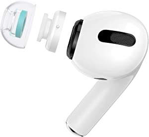 SpinFit CP1025 for Apple Airpods Pro M – Patented Silicone Eartips for Replacement and Supreme Comfort (2 Pairs) (for Nozzle Diameter from 4-5.5mm)