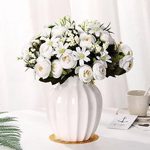 Flor de emulación suite salón decorado con flores falsas en la ...