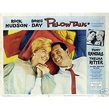 Hot Stuff Enterprise 4545-12x18-LM Pillow Talks Rock Hudson Poster