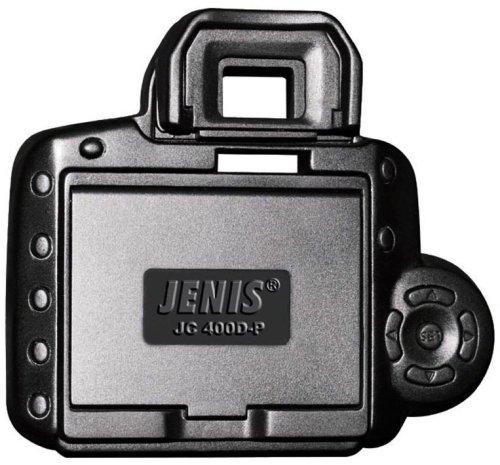 Jenis J-C400D-P-L Professional LCD Hood for Canon 400D (Black)