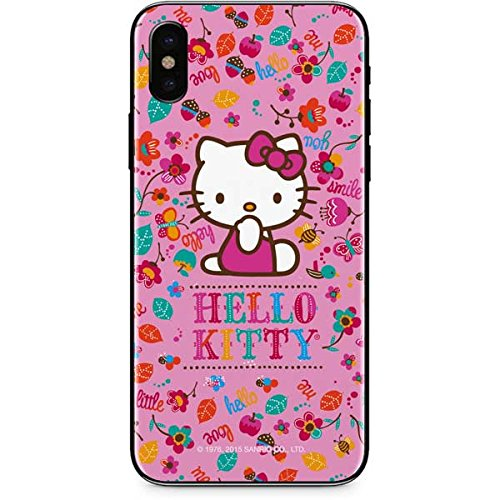 66457c84b Image Unavailable. Image not available for. Color: Skinit Hello Kitty Smile  iPhone X Skin - Officially ...