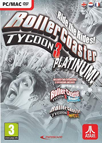Rollercoaster Tycoon 3 Platinum - PC (Best Roller Coaster Tycoon Game)
