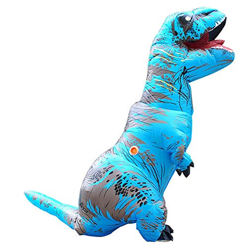 STYLOWY Funny Dinosaur Inflatable Costumes for Adult & Kids with Inflatable Costume Fan 3.6′-4.59' ()
