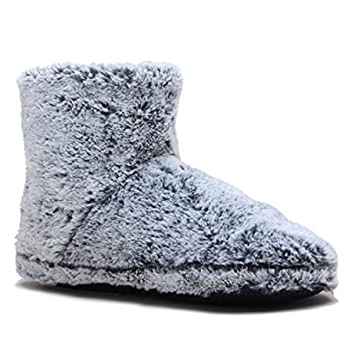 Snookiz Microwave Heated Slippers Short Booties for Women