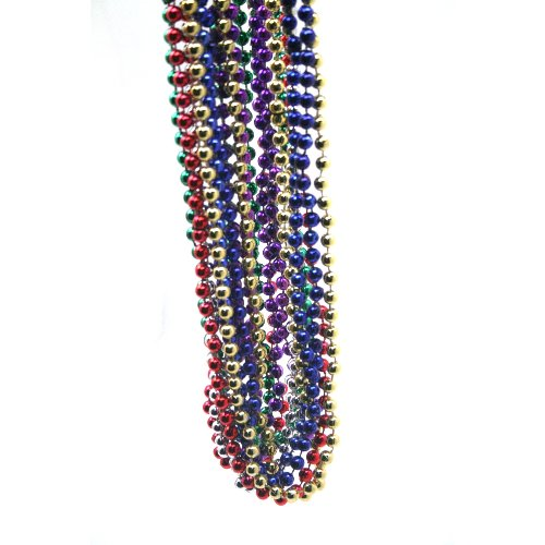 Rhode Island Novelty Beads 33in 7 1/2 MM AST 12 EQ1
