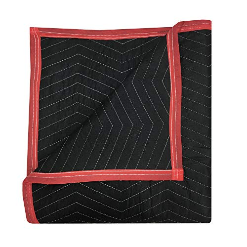 6 Pack of Deluxe Moving Blankets - 5.42lbs/Each - Protective Shipping by Uboxes (Image #2)