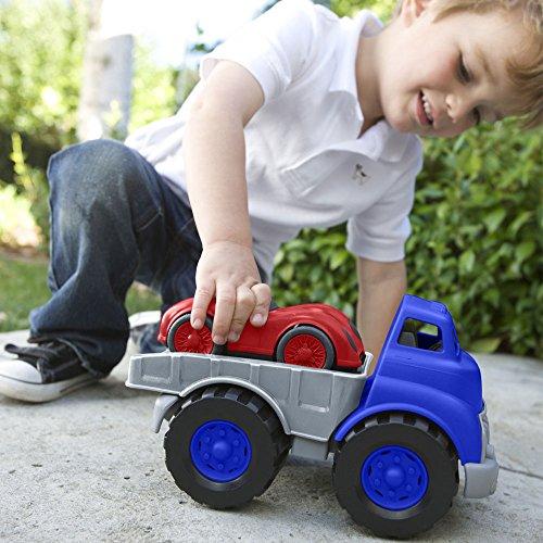 Green Toys Flat Bed Truck & Race Car