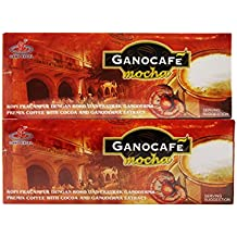 (2) Gano Excel Cafe Mocha with Zrii Amalaki Premix Rise Sample Sachet Instant Beverage Coffee