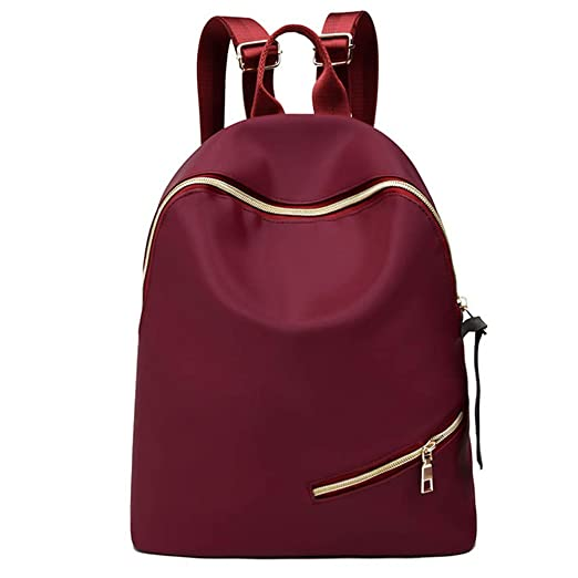 7896f0c06f3f Amazon.com: Women Girl Oxford Cloth Backpack Student Satchel Travel ...