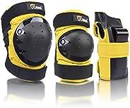 JBM Inline & Roller Skate Protective Gear for Multi Sport Skateboarding, Scootering, Bmx, Biking, Cyc
