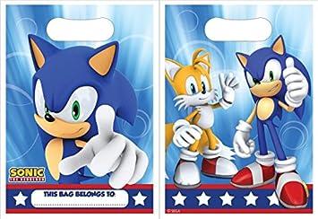 Bolsas Chuches Sonic The Hedgehod (Pack de 8): Amazon.es: Juguetes ...