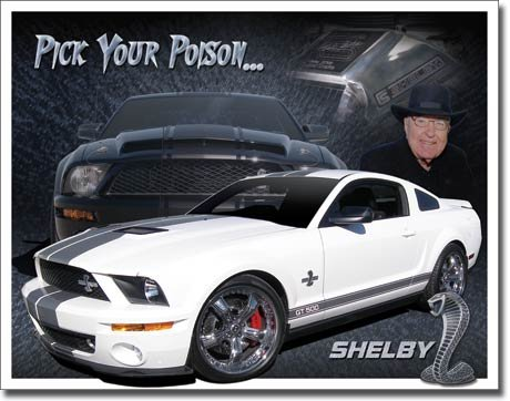 The Finest Website Inc. New Pick Your Poison Shelby 16