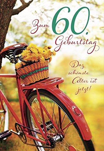 Das schönste Alter ist jetzt A4 XXL Geburtstagskarte zum 60