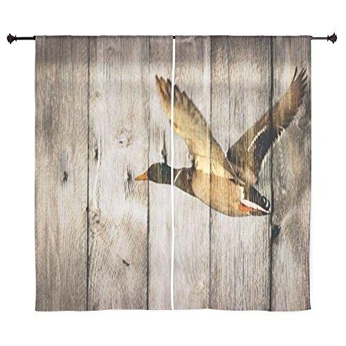 Barnwood Wild Duck Curtains