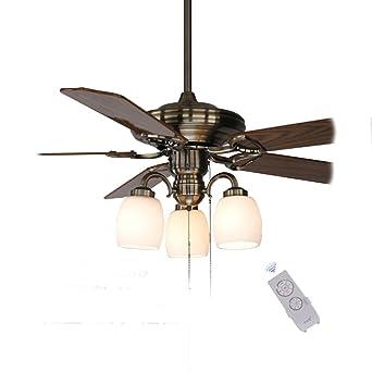 Continental Retro Deckenventilator Licht Ventilator Licht Minimalistisch  Moderne Dekorative Kronleuchter Fan