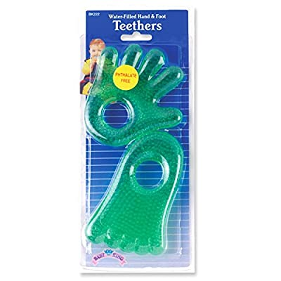 Bk Teether Waterfilled Size Ea Bk Teether Waterfilled : Baby Teether Toys : Baby