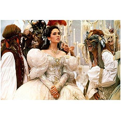 Labyrinth Jennifer Connelly As Sarah At Jareths Masquerade Ball 8 X