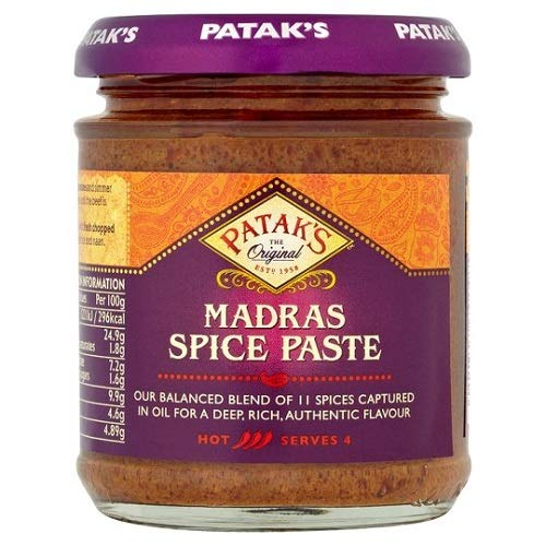 Pataks Madras Spice Paste 165g (Pack of 3) ()
