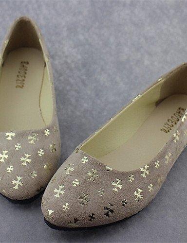 Zapatos Negro Cn41 de Taln Redonda Casual Uk7 Mujer De rosa Flats Pdx Black Plano Punta rojo us9 beige Eu40 vUp5qd1x
