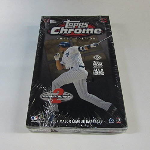 2007 Topps Chrome Baseball Box (Hobby) -