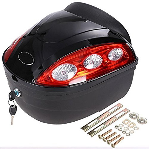 Durable Universal Motorcycle Scooter Luggage for Tool Box Cargo Box (US Stock) by Onbay1 (Image #2)