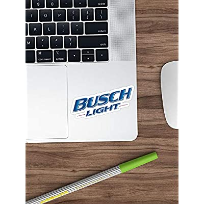 Big Lens store Logo of Busch Light Stickers (3 Pcs/Pack): Toys & Games