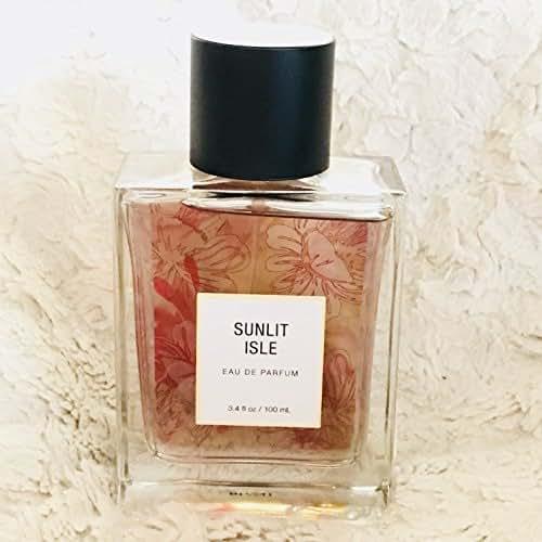 Sunlit Isle eau de parfum by Tru Fragrance 3.4 Fl Oz brand new no box