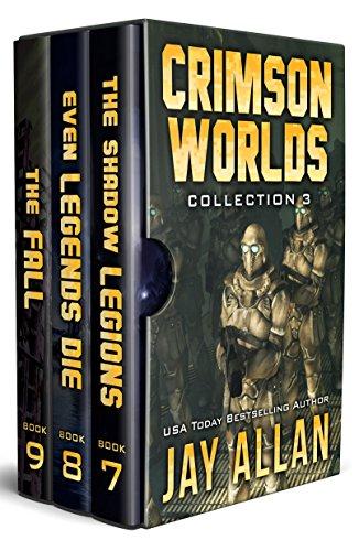 Crimson Worlds Collection III: Crimson Worlds Books 7-9 (Crimson Worlds Collections Book 3) ()