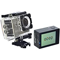 GOSO Action Camera HD 1080P WiFi, 2 LCD (Pack of 2)