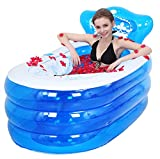 Thicker Adult Double Plastic Inflatable Bathtub