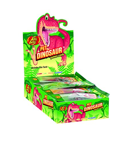 Jelly Belly Gummi Pet Dinosaur, 1.75-oz, 24 Pack