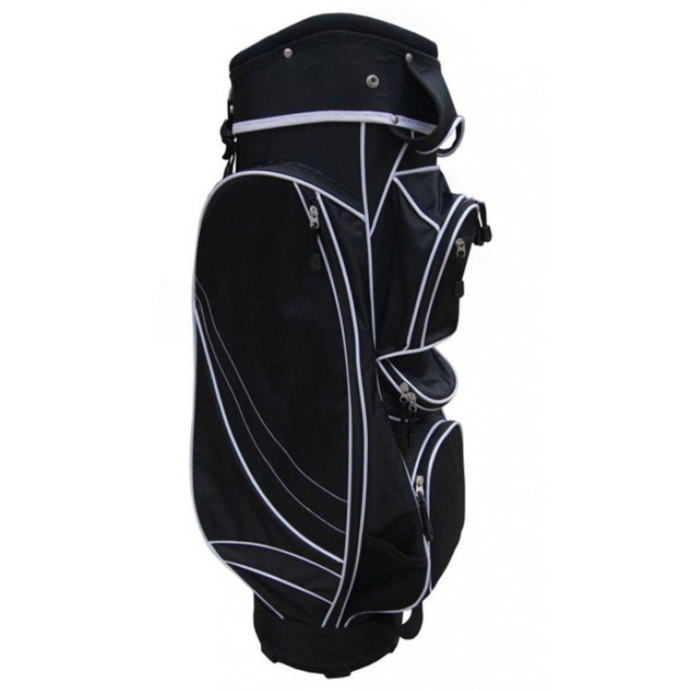 正確なゴルフmx14カートバッグ2017ブラック B071FT85WL