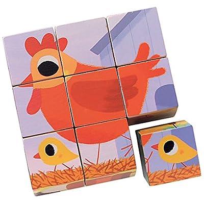 Djeco 9 Cube Cotto Cotto Chez Dj01950 Japan Import