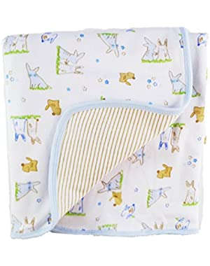 ABSORBA Baby-Boys Newborn Blanket