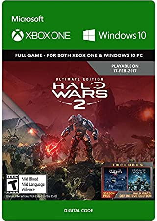 Halo Wars 2 Ultimate Edition - Pre-Load - Xbox One/Windows 10 Digital Code