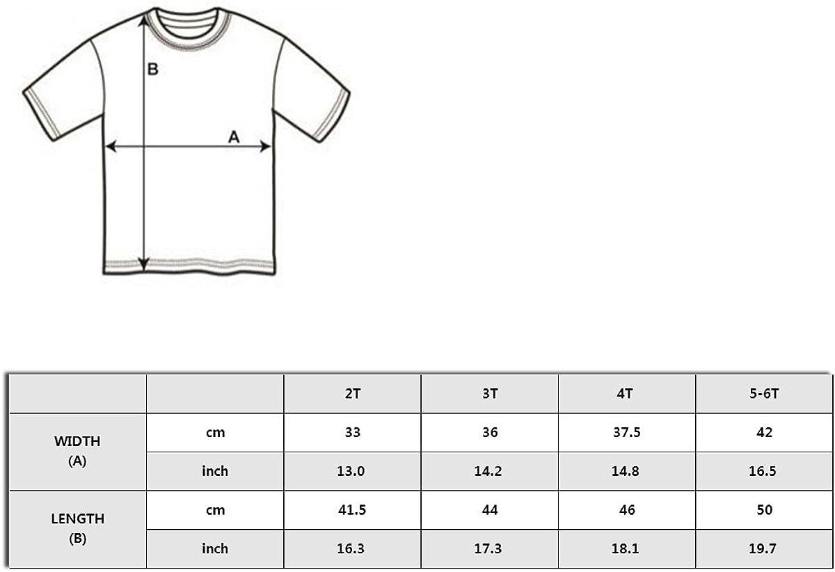 Wishesport Happy Camper 2-6 Years Old Boys /& Girls Short-Sleeved Tshirt