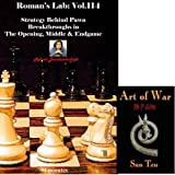 Roman's Chess Labs, 114: Strategy Behind Pawn Breakthroughs in the Opening, Middle & Endgame & ChessCentral's Art of War E-Book (2 Item Bundle)