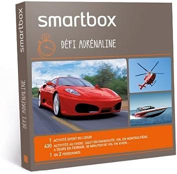 Smartbox - Pack experiencia Desafío adrenalina (disponible en Francia): Amazon.es: Salud y cuidado personal
