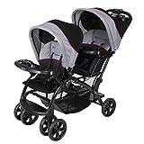 Baby Trend Double Sit N Stand Stroller, Millennium Pink