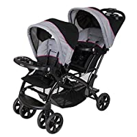 Baby Trend Double Sit N Stand Stroller, Millennium Pink