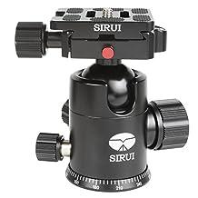 Sirui G-20KX Professional Ball Head in Black w/ Arca-Type Quick Release Plate